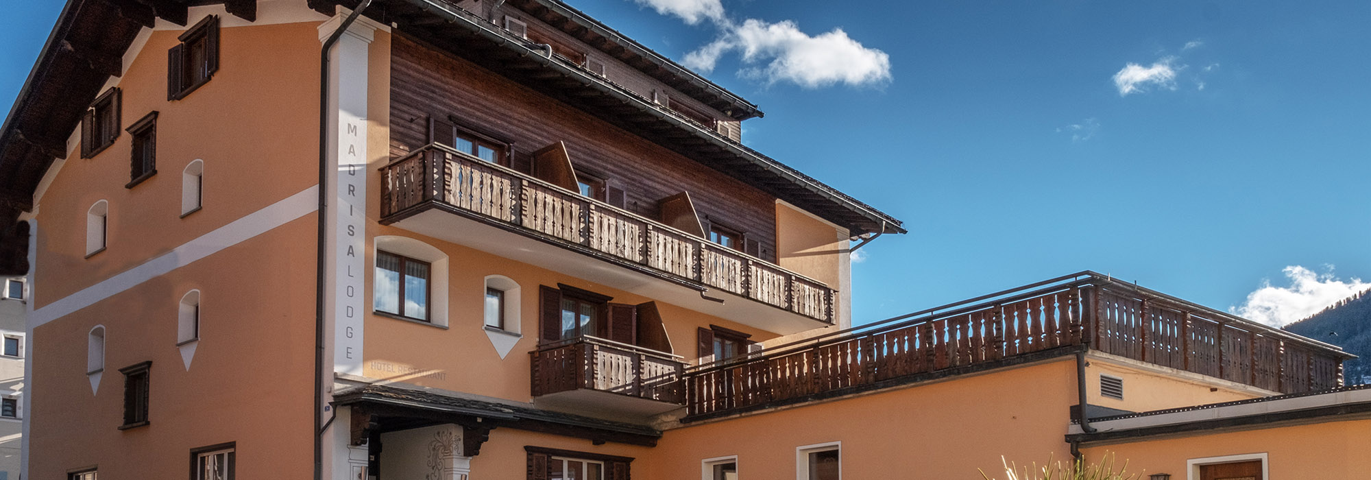 The family hotel in Klosters
